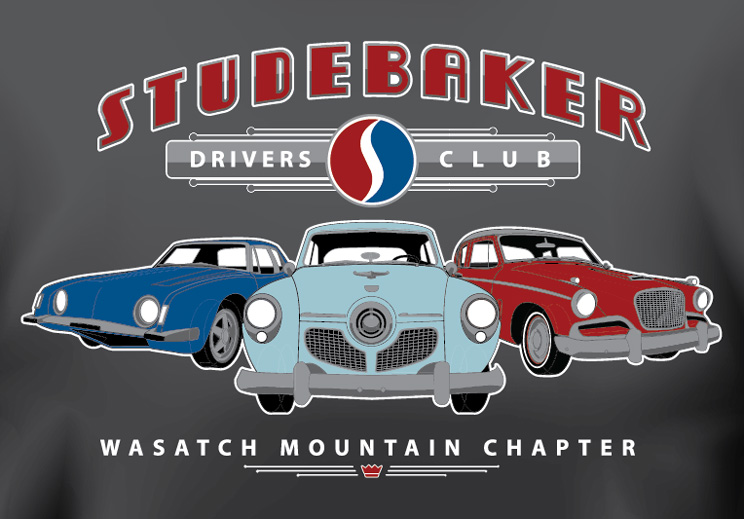 T-Shirt-Studebaker-Drivers-Club-Close-up